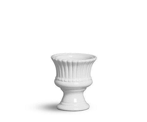 Vaso mini branco algodão doce