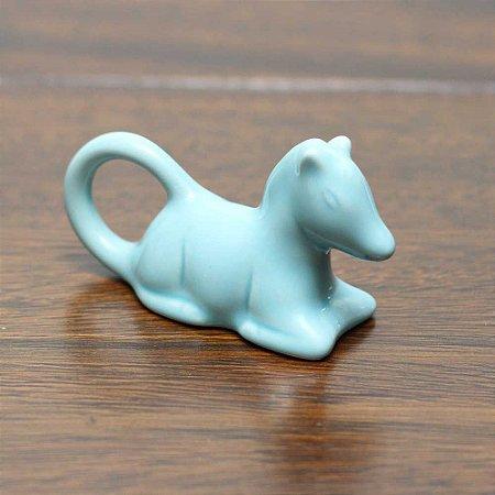 Porta-guardanapo Cavalo - Azul