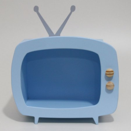 TV em Mdf - Azul Claro