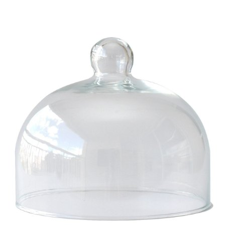 Redoma de vidro 14x17cm