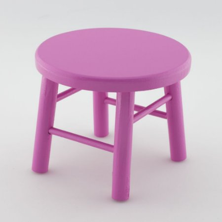 Banquinho de MDF G - Pink