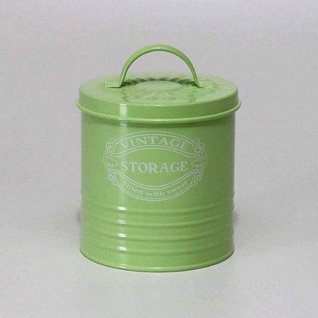 Lata Vintage Verde