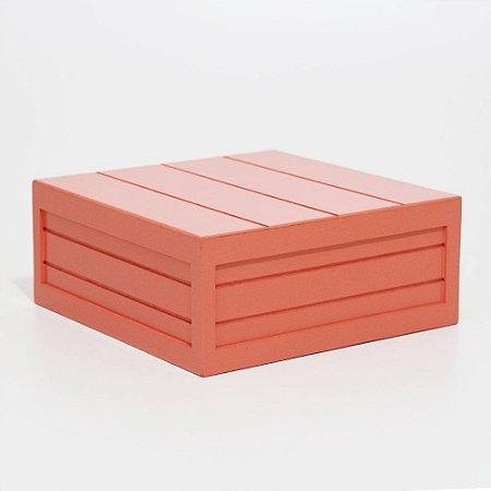 Caixa em MDF - Coral