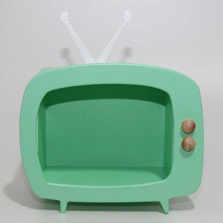 TV em Mdf - Verde claro