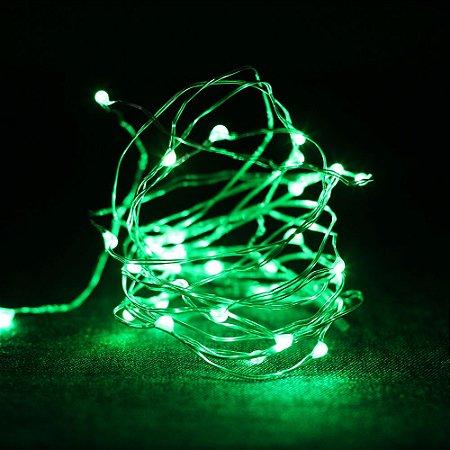 Fio de Luz - Verde (A pilha)