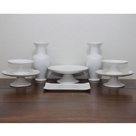 Kit branco - 8 peças