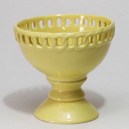 Bomboniere Elos Amarelo Claro (18x18cm)