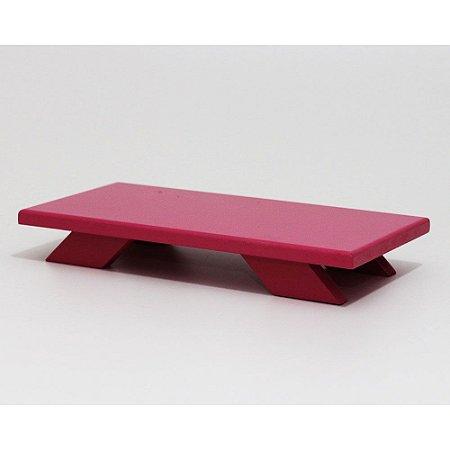 Bandeja Baixa em MDF - Pink