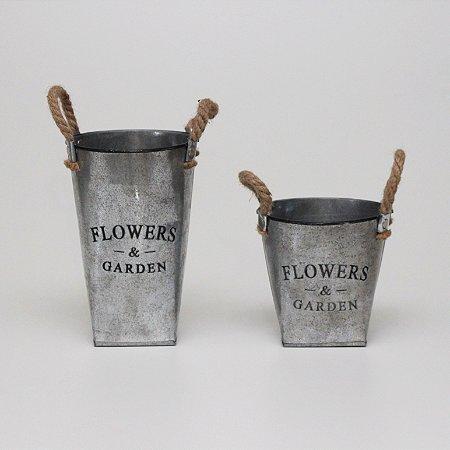 Kit Vasos Flowers Garden