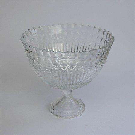 Bomboniere Bowl de Vidro com Pé (20x23cm)