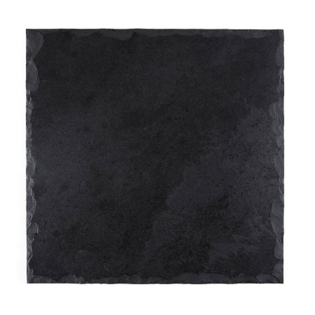 Prato Quadrado em Ardósia - Acabamento Rústico (20x20cm)