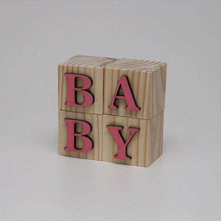 Blocos BABY - Rosa