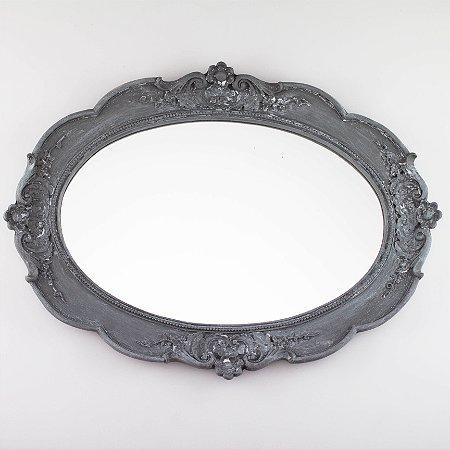 Bandeja Oval - Cinza Rústico
