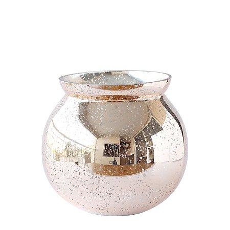 Vaso de Vidro Pequeno - Cobre