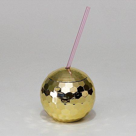 Copo Globo - Dourado