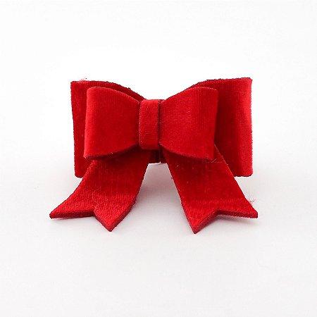 Porta-guardanapo Laço Vermelho