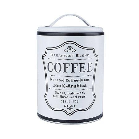 Lata de Metal Coffee