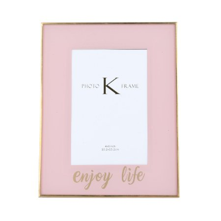 Porta-retrato Enjoy Life - Rosa