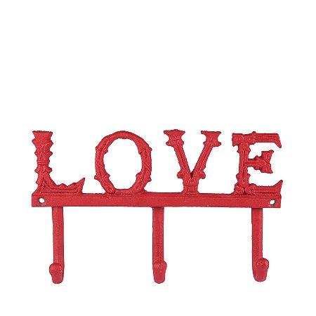 Cabideiro de Parede Love