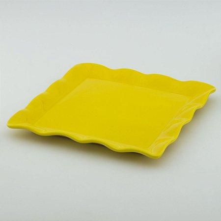 Travessa Babado Quadrada - Amarelo Escuro