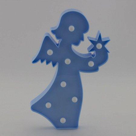 Luminária Anjinho - Azul