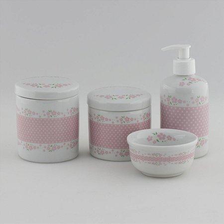 Kit Higiene Delicado Rosa
