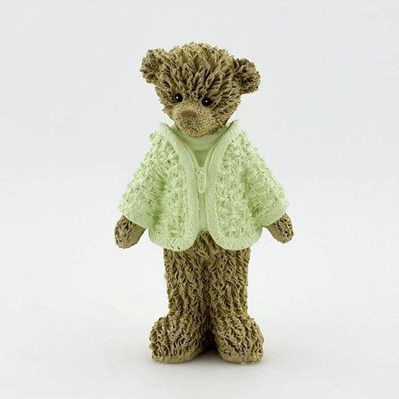 Ursinho de Resina - Verde em pé