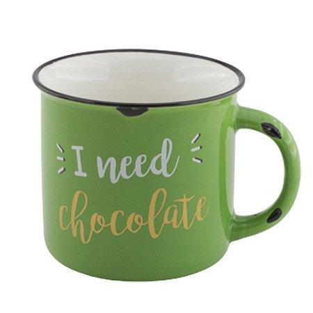 Caneca I need chocolate