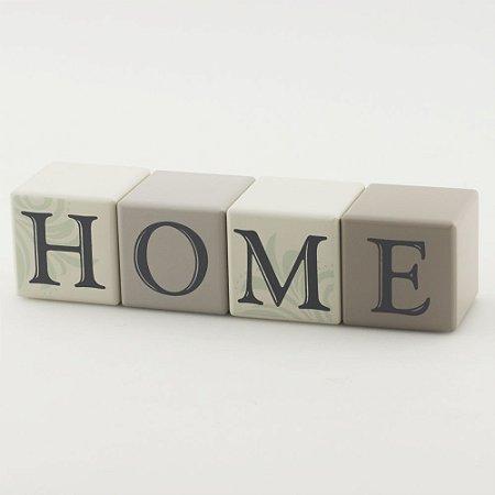 Cubos de madeira HOME