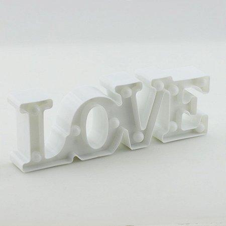 Luminária Love - Branco