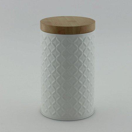 Lata de Metal redonda