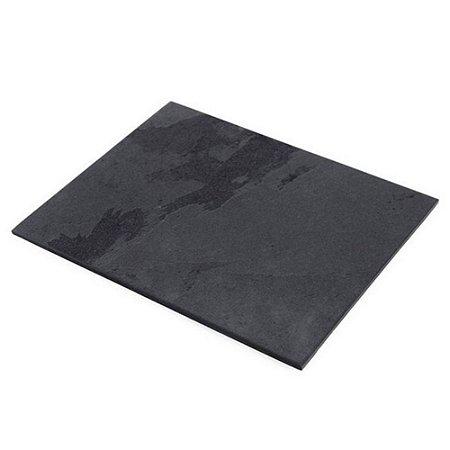 Prato Retangular em Ardósia - Acabamento Liso (20x25cm)