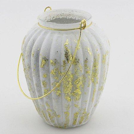Vaso com alça bojudo (9,5x12,5cm)