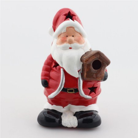 Papai Noel com casinha