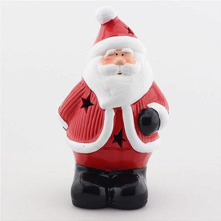 Papai Noel de cerâmica