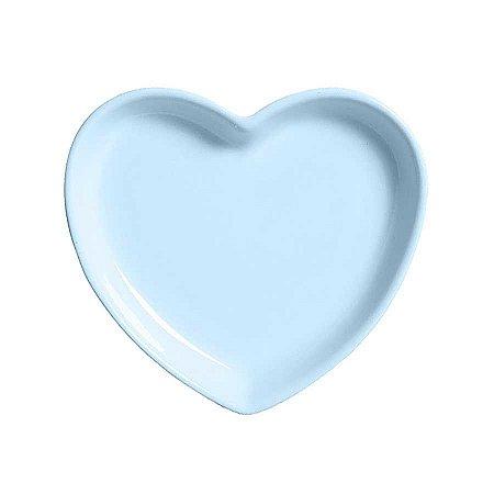 Travessa coração Azul M (18x16cm)