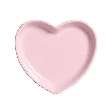 Travessa coração Rosa M (18x16cm)