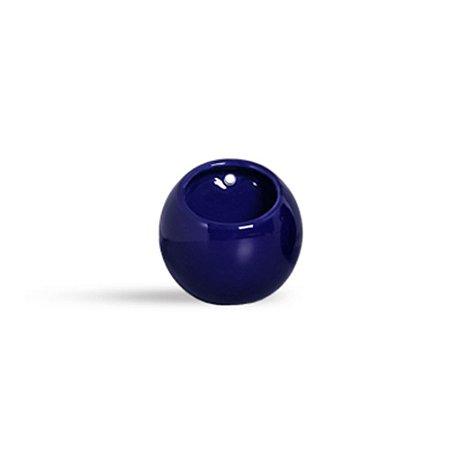 Vaso de parede Bola Azul Marinho