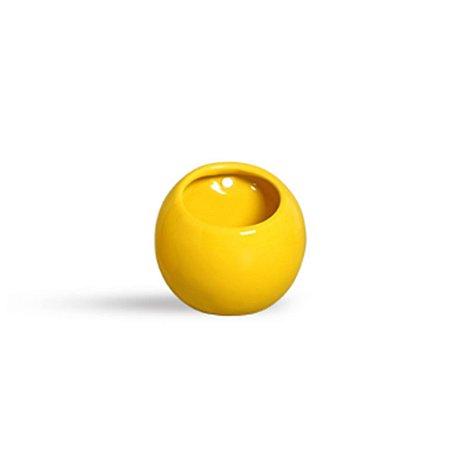 Vaso de parede Bola Amarelo
