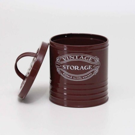Lata Vintage Chocolate - Pequena