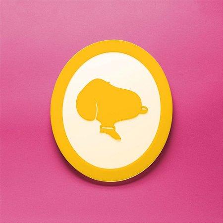 Quadro Snoopy - Amarelo