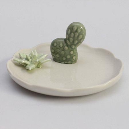 Mini prato com cactos (12cm)