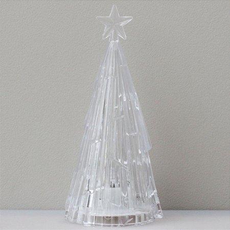 Árvore de Natal de acrílico - 12,5cm