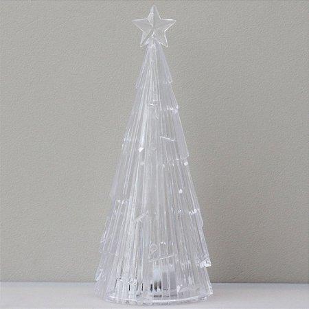 Árvore de Natal de acrílico - 17,5cm