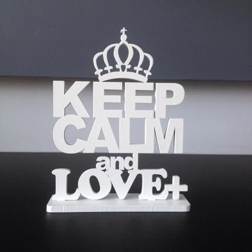 Placa Keep Calm