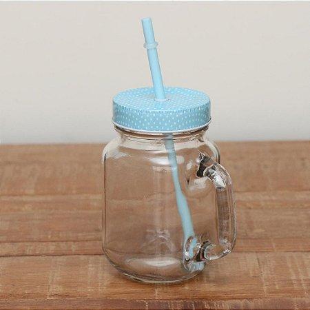 Mason Jar Azul
