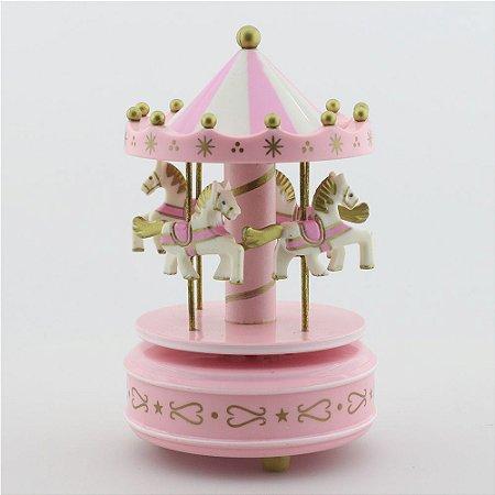 Carrossel Rosa - Pequeno