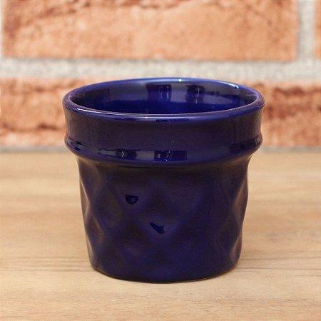 Vaso Casquinha Azul Marinho
