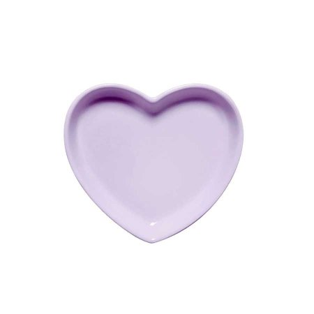 Travessa coração Lilás P (12x11cm)