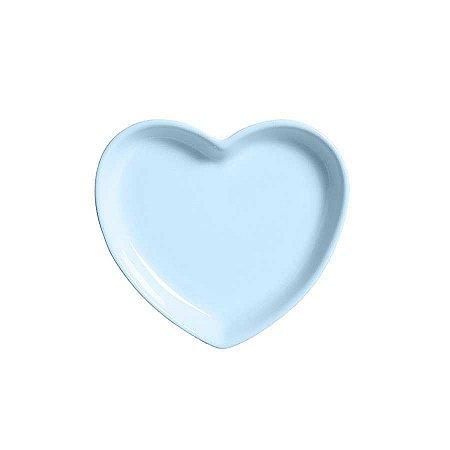 Travessa coração Azul P (12x11cm)